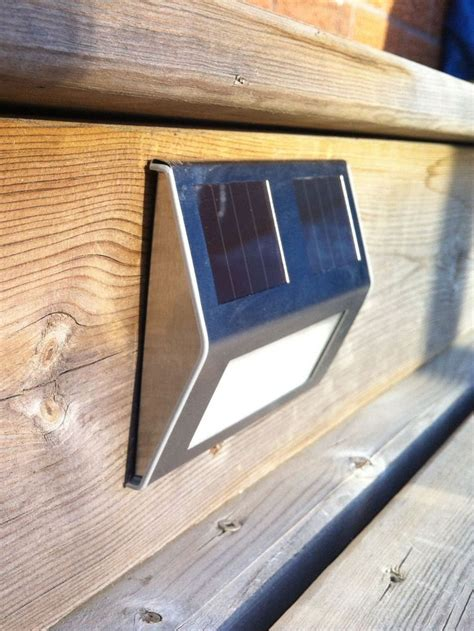 solar powered decking lights 25 best ideas about solar pool lights on