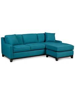 keegan fabric 2 sectional sofa furniture macy s
