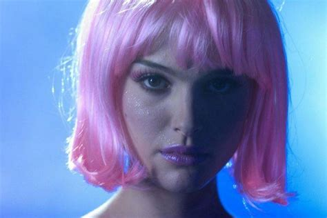 Natalie Pink natalie portman closer pink hair wallpapers hd desktop