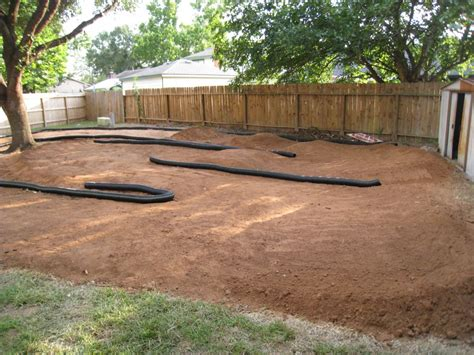 how to build a rc track in my backyard building a track in my backyard ohh yeah page 2 r
