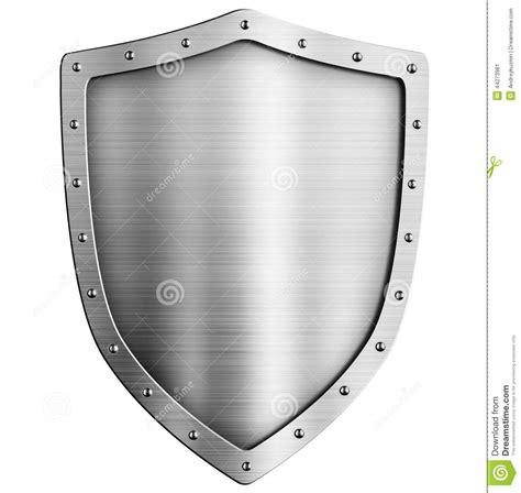 Metal Cl By Protect escudo de oro metal aislado stock de ilustraci 243 n