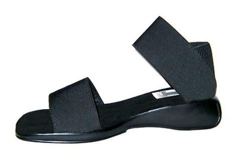 san miguel sandals new ankle sandals wedges san miguel shoes black or