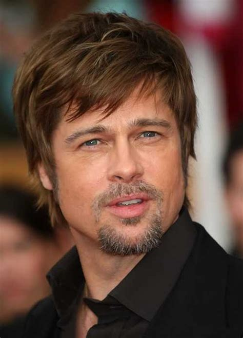 brad pitt short hairstyles for men mens hairstyles with fringe mens hairstyles 2018