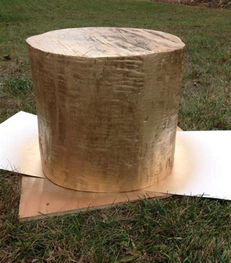 tree stump table diy diy gold tree stump table tree stumps trees and diy and