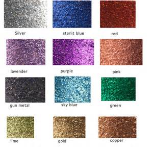 is glitter a color glitter color chart sles by michelleverbeeck on etsy