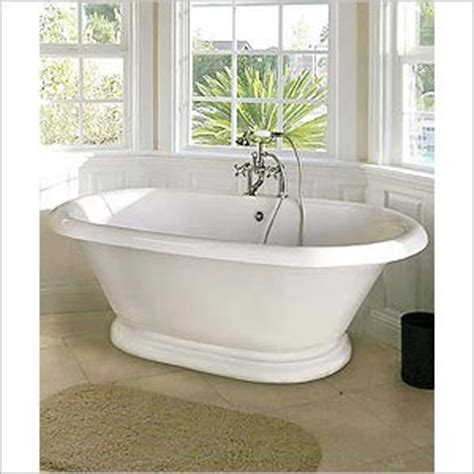 Porcelain Pedestal Tub What To Consider On Porcelain Bathtubs