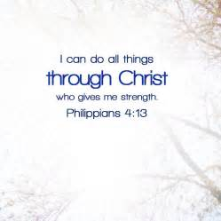 Can do all things through christ tangible theology