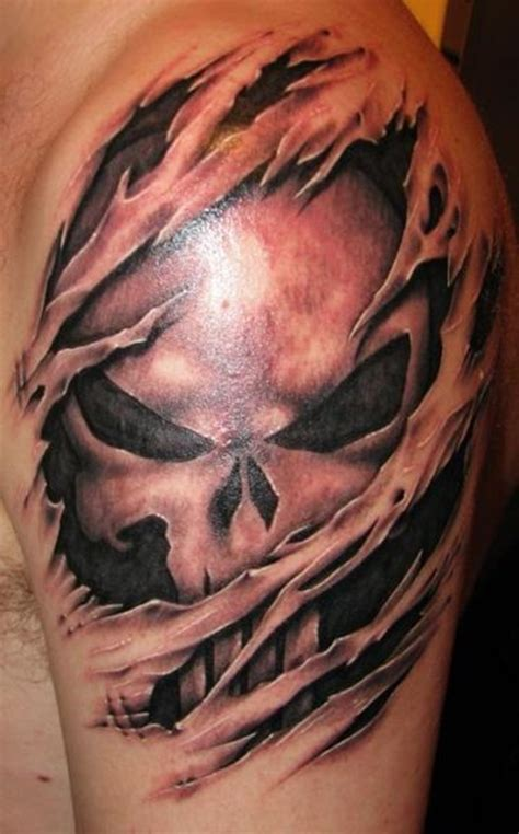 skin ripping tattoos 40 cool and amazing ripped skin tattoos