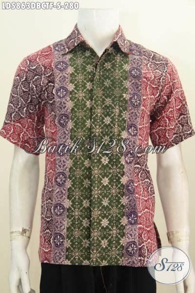 Hem Batik Dolbi hem batik istimewa untuk remaja pria baju batik lengan pendek keren halus istimewa bahan adem