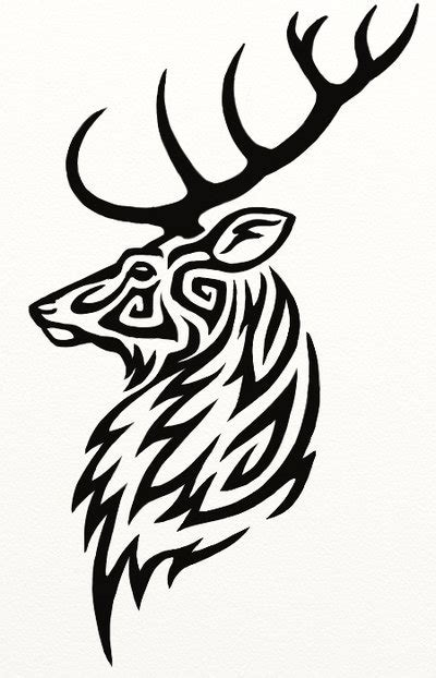 tribal elk tattoos 12 stunning tribal deer tattoos only tribal