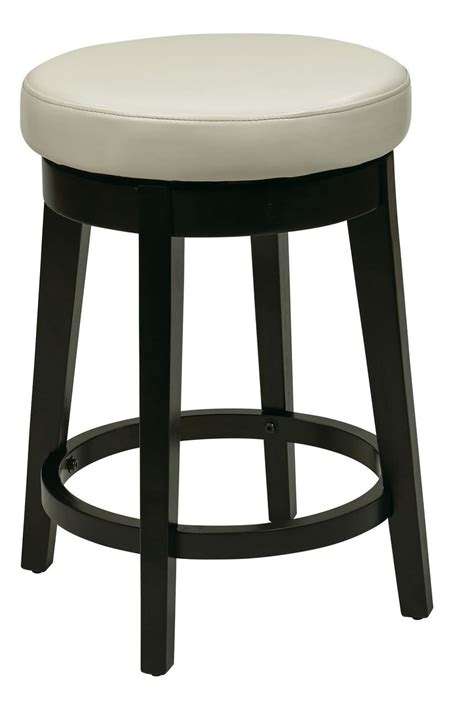 24 Inch High Stools by 24 Inch High Seat Bar Stool Faux Leather Wood Stool