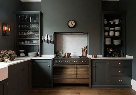natural grey kitchen cabinets ideas design ideas 27 moody dark kitchen d 233 cor ideas digsdigs