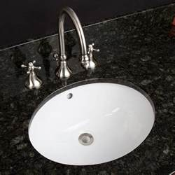 18 quot oval porcelain undermount bathroom sink bathroom