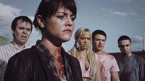 black mirror zombie episode dead set on netflix zombie reality show is ideal black