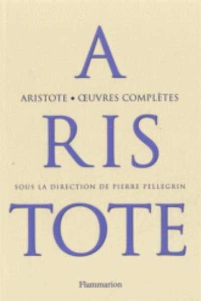 libro oeuvres completes pasajes librer 237 a internacional oeuvres compl 232 tes arist 243 teles 978 2 08 127316 0
