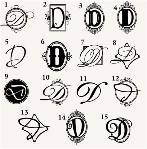 letter d designs for tattoos 1000 ideas about monogram letters on