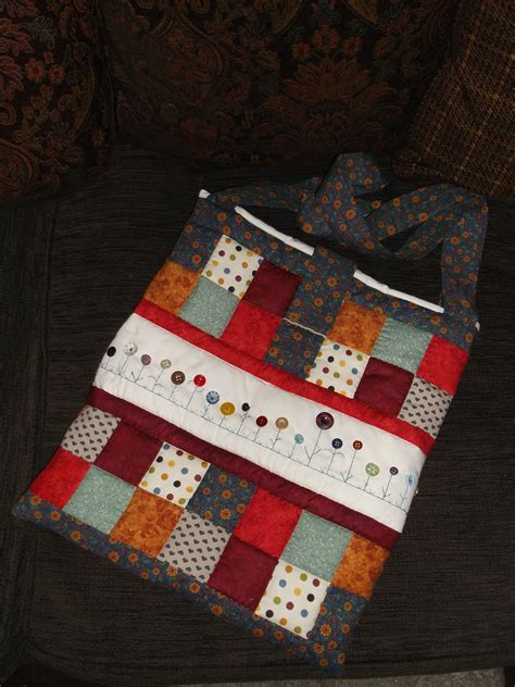 Handmade Patchwork - bags handmade patchwork and embroidered shopping bag