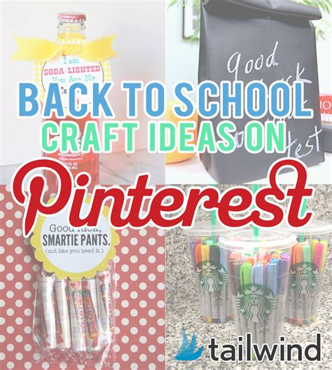 back to school craft ideas on