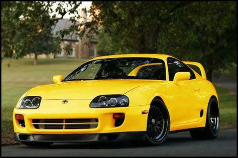 yellow toyota yellow toyota supra lexus toyota