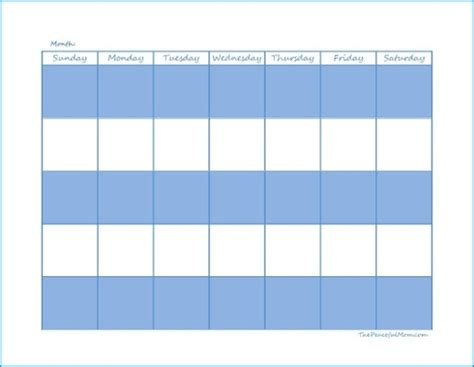 printable calendar i can type on blank monthly calendar that i can type information on from