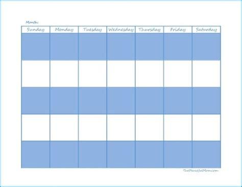 click  print monthly calendar  peaceful mom