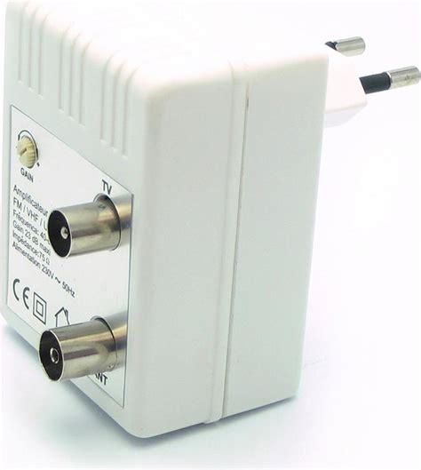 lificatore di segnale tv da interno metronic lificatore antenna segnale tv uhf vhf fm da