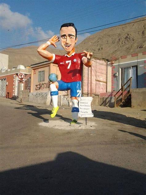 alexis sanchez statue fernando galmes on twitter quot alexis sanchez en tocopilla