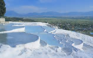 Pamukkale Thermal Pools 20 Seriously Weird Places Around The World Rough Guides