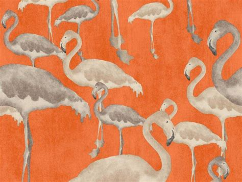 Wall Murals Cityscapes flamingo beach calypso designer wallpaper