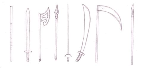 doodle how to make weapon tutorials