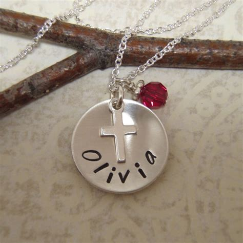 8 Necklaces To Give To Your by S Communion Necklace Cross By Filigreepheasant
