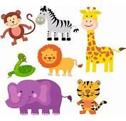 Zoo Clipart Safari Animal  Pencil And In Color