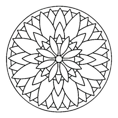 simple mandala coloring pages pdf simple mandala coloring pages simple mandala coloring