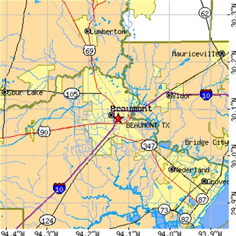 where is beaumont texas on a map beaumont tx image mag
