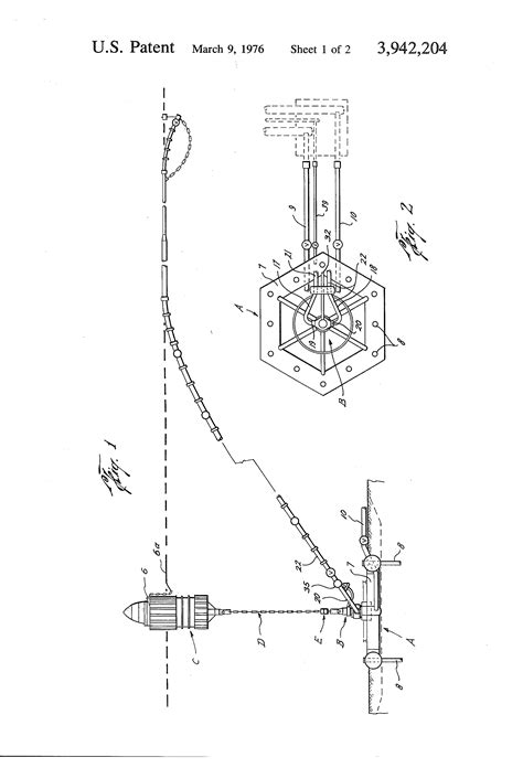 Sketches A Typical Mooring Arrangement by Patent Us3942204 Swivel Arrangement For Single Anchor