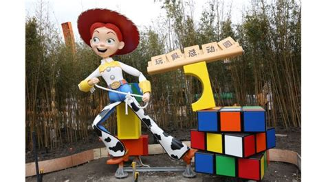 New Listing New Tokyo Disney Resort Pixar Story Buzz Woody disney 183 pixar story land at shanghai disneyland is now home to woody and disney