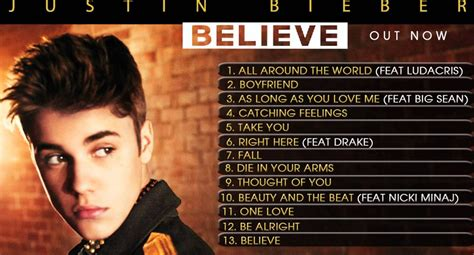 justin bieber new list songs 2013 justin bieber best songs and albums find it out