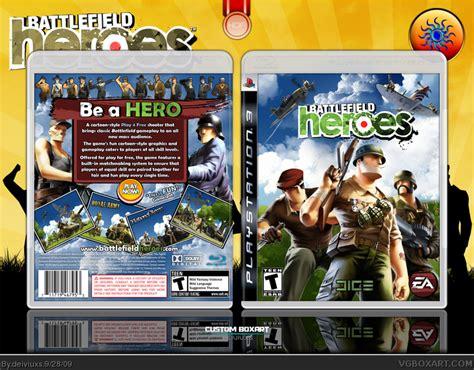 Battlefield Heroes Pc Original Asli battlefield heroes playstation 3 box cover by deiviuxs