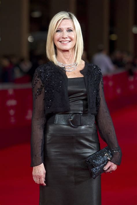 olivia newton john leather pants celebrities in leather olivia newton john in leather