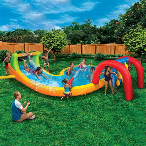 ultimate inflatable backyard water park backyard inflatable water park 28 images backyard