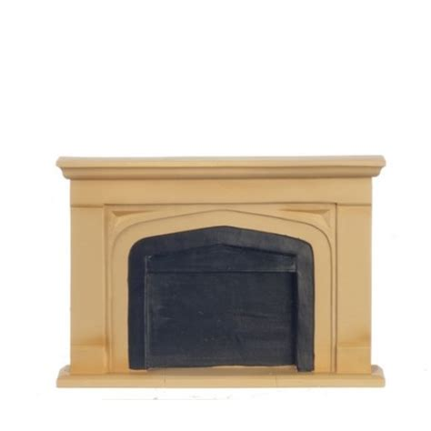 sm manor fireplace mantel dollhouse miniature fireplaces