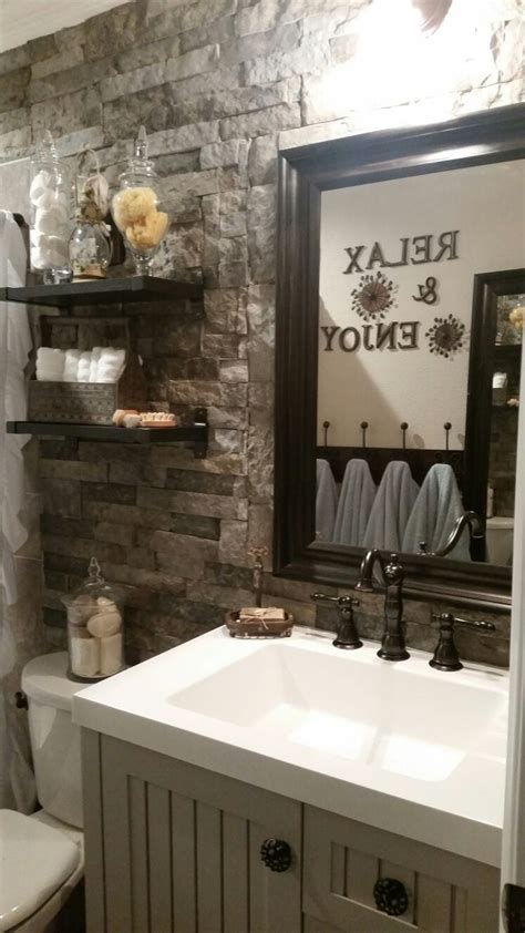 bathroom accent wall ideas best bathroom accent wall ideas on pinterest toilet room