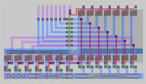 layout in vlsi design layout styles in vlsi images