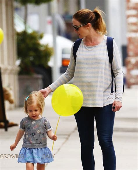 pregnant emily blunt takes her daughter hazel krasinski to