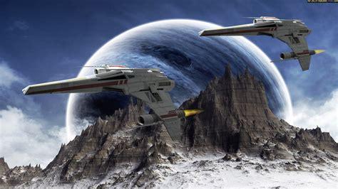 Planets Raumschiffe Science Fiction Sci Fi wallpaper