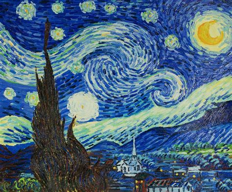 Starry Nights gogh starry reproduction painting overstockart