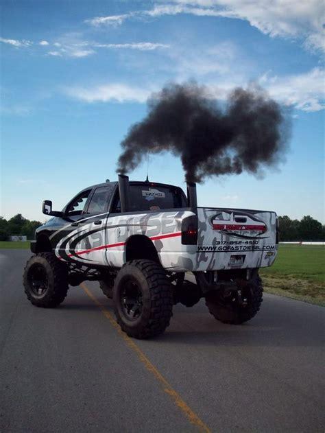 cummins truck dodge cummins big black smoke diesels trucks black