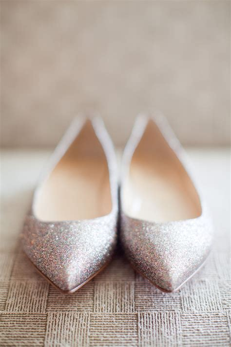 Glitter Wedding Shoes by Sparkly Glitter Wedding Shoes Elizabeth Designs