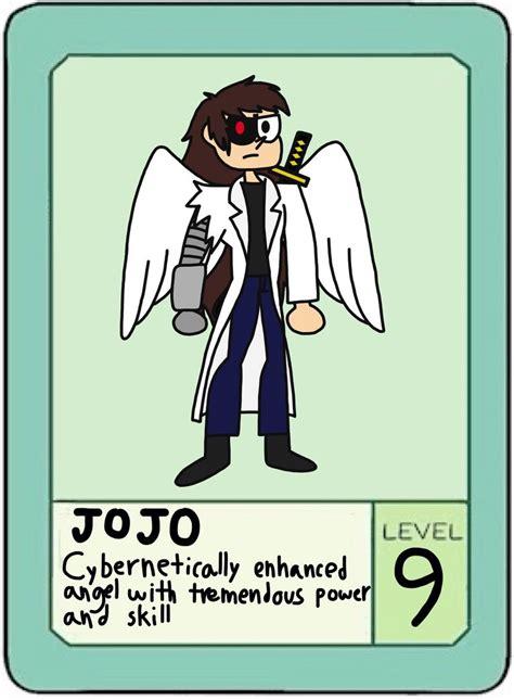 Ok Ko Pow Card Template by Ok K O Let S Be Heroes Jojo Pow Card By Kujarojotu On
