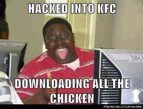 littlefun hacked into kfc
